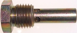 "Valve, Fuel Drain 1/4"" Taper Pipe Thread, Flush Mounted"