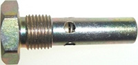 "Valve, Fuel Drain 1/8"" Taper Pipe Thread, Flush Mounted"