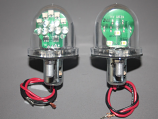 Combination Wing Tip Navigational / Tail Light Assembly 14V Green/White, DC