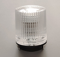 Anti-Collision/Beacon, Clear, LED, 24 Volt, DC