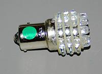 Navigational Lamp, Wing Tip, LED, Green, 24 Volt, DC