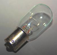 Beacon Lamp, 14 Volt, 50 Watt, Single Contact