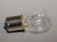 Lamp, 28 Volt, 15 Candle Power, Single Contact