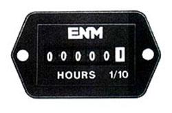 Rectangle Quartz Hour Meter, 10-80 V DC
