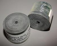 Baffle Seal Roll, Black Reinforced